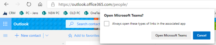 OpenWithMicrosoftTeams
